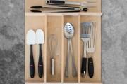 Custom Wood Utensil Drawer Organizer